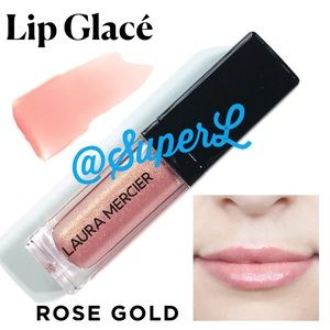 2/$25 Laura Mercier Lip Glace Lipgloss Rose Gold